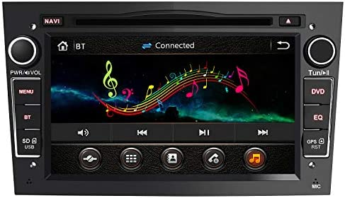 Radio Coche 7 Pulgadas con Pantalla Táctil 2 DIN para Opel, Opel Autoradio con Bluetooth/GPS/FM/RDS/CD DVD/USB/SD, Apoyo Mandos Volante, Mirrorlink y ...