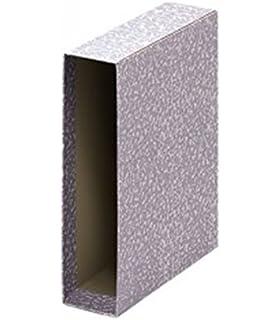 Grafoplas 07170071 - Cajetín archivador, color gris jaspeado