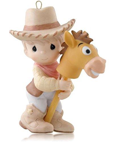 (Hallmark Woody and Bullseye - Disney Pixar Toy Story - 2014 Keepsake Ornament)