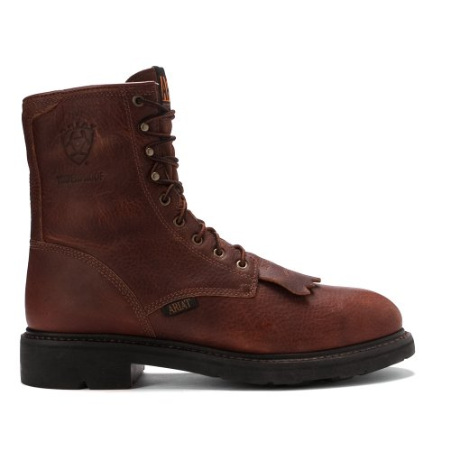 Ariat Mens Cascade 8 Steel Toe H20 Lace-up Boot Sunshine