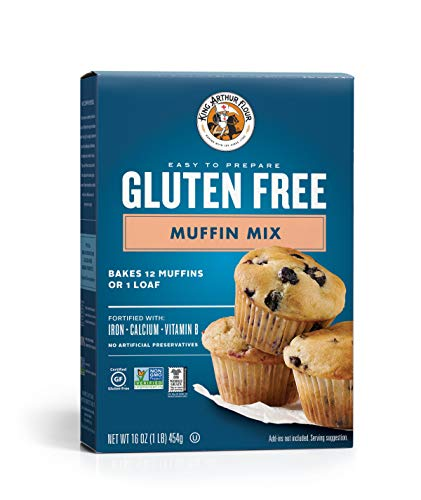 - King Arthur Flour, Muffin Mix, Gluten Free, 16 Ounce