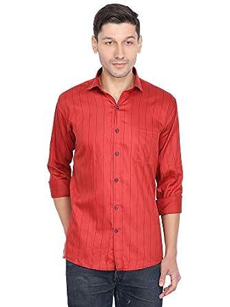 Highfy Men Multicolour Doted Printed Shirt Size,(M, L, XL, XXL)