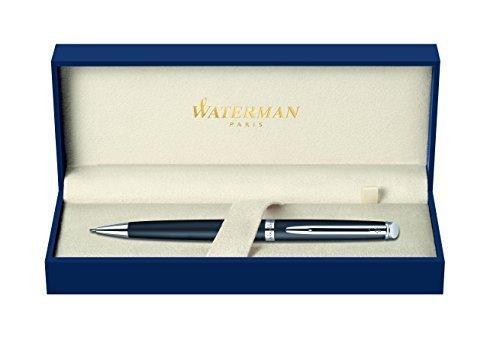 (Waterman Hemisphere 2010: Matte Black CT Pencil, Chrome Trims, Twist Mechanism., Use 0,5m Leads. by Waterman)