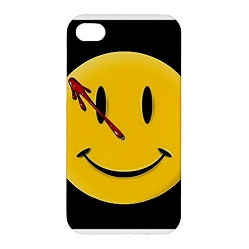 Caitin Watchmen Smiley Case Cover Protective Shell for Iphone 6 (Watchmen Girl Costume)