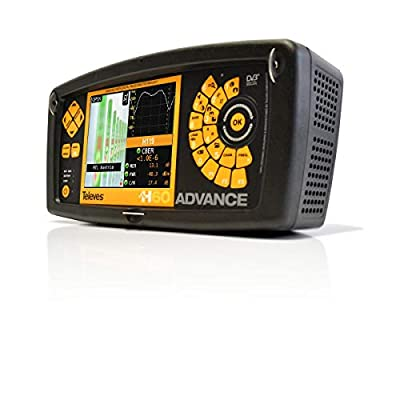 Televes 596001 H60 Advance Full HD + 5-3.3GHz Spectrum Analyzer