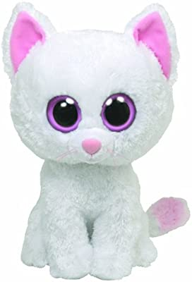 549ba1a8314 Amazon.com  Ty Beanie Boos Cashmere The Cat  Toys   Games
