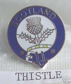 Chardon Écosse Clan écossais épinglette 1000 Flags
