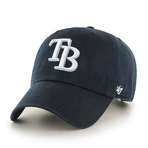 Tampa Bay Rays Clean Up Adjustable Cap - Tampa Bay Devil Rays Team Colors