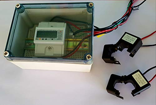 Smart energy meter 1 2 or 3 phase 120V/480V. 2x200:5 Amps included by BeyondTech.com (Image #4)