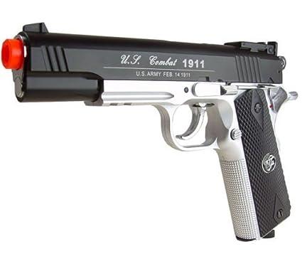 wingun 1911 601 co2 gas airsoft gun bs(Airsoft Gun)