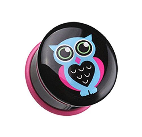 00 gauges plugs owl - 7