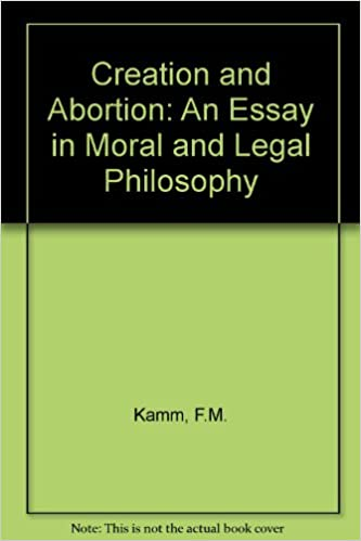 Thesis Examples For Argumentative Essays Buy Creation And Abortion An Essay In Moral And Legal Philosophy Book  Online At Low Prices In India  Creation And Abortion An Essay In Moral  And Legal  Science Essays also The Yellow Wallpaper Analysis Essay Buy Creation And Abortion An Essay In Moral And Legal Philosophy  Compare And Contrast Essay Papers