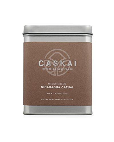 Caskai Premium Single Origin Cascara, Nicaragua Catuai, 1/2 pound (250g) Tin