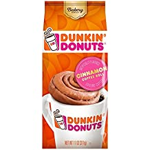 Dunkin' Donuts Bakery Series Coffee, Cinnamon Coffee Roll Flavored Coffee, 11 Ounce
