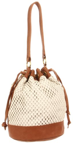 Linea Pelle Dylan 41958 Cross Body,Sand/Coffee,One Size, Bags Central