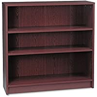 HONamp;reg; - 1870 Series Bookcase, 3 Shelves, 36w x 11-1/2d x 36-1/8h, Mahogany - Sold As 1 Each - Durable, long-lasting laminate.
