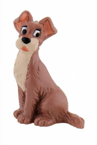 Bullyland Tramp Action Figure (Lady And The Tramp Figurine Set)