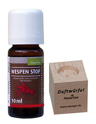 Wespen-Stop 10ml - Abwehrmittel mit Duftwürfel