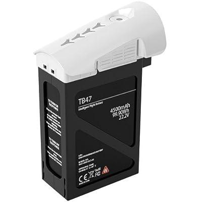 2 DJI TB47B Intelligent Flight Batteries for Inspire 1 (99.9Wh) + DJI Transmitter for Inspire 1 Quadcopter + SSE Transmitter Lanyard + Microfiber Cleaning Cloth