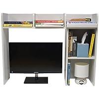 Classic Desk Bookshelf - White