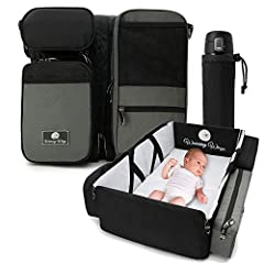 NAPPY CHANGING STATION  Our wipe clean table top baby changer is super quick and easy to fold out then pack down - keeping you organised and prepared in the busiest of cafes or parks when it's time to change your little one's nappy.  COMFY CR...