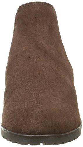 Caprice 25350, Botines para Mujer Marrón (DK BROWN SUEDE 338)