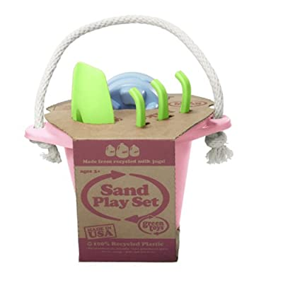 Green Toys Sand Play Set, Pink: Toys & Games
