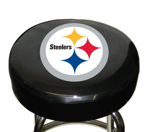 NFL Pittsburgh Steelers Bar Stool Cover (Bar Stools Cover Seat)