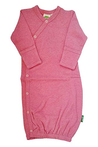 Parade Organics Kimono Gowns - Essentials Pink Melange 0-3 Months by Parade Organics