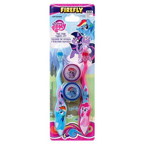 Dollaritem 361450 Wholesale My Little Pony Toothbrush 4Pk Travel Kit X ()