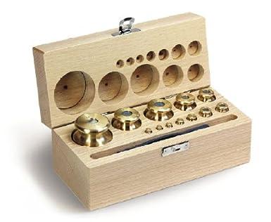 Núcleo - 354 - M2 Peso Set 1/500g Feingedreht Latón En Caja De ...
