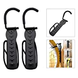 Panathlatic Hooks & Rails - 2pcs Bicycle Wall Hook Rack Holder Hanger St