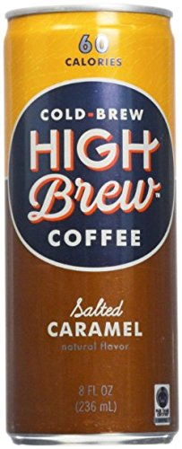 High Brew Cold Brew Coffee 6 - 8oz Cans (Salted Caramel)