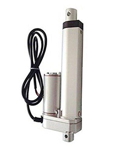 "4 Inch 4"" Stroke Linear Actuator 12 Volt 12V 225 Pounds lbs Maximum Lift"