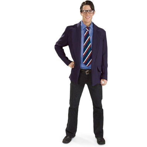 Adult Superman Clark Kent Costume - -