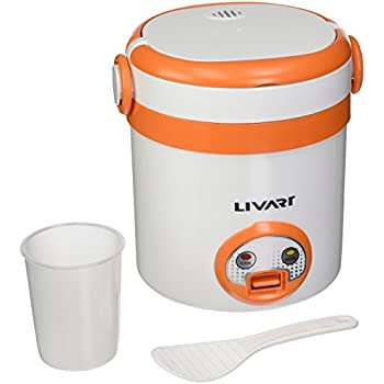Amazon.com: Travel Rice Cooker, Mini Rice Cooker By C&H