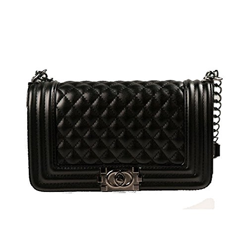 Quilted Chain Bag - 1