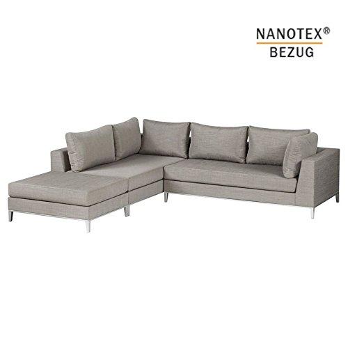 EXOTAN® NANOTEX SICILIE LOUNGE LINKS - TAUPE günstig