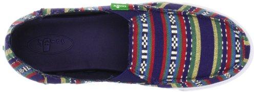 Sanuk Womens Cabrio Poncho Flat Blue