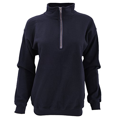 Blue 1/4 Zip Sweatshirt - 2