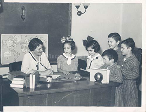 1937 Photo Good Samaritan Hospital Grace Corrigan Victoria Longo Newman 7x9