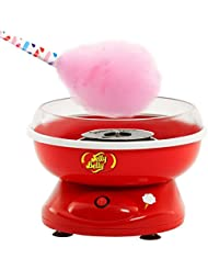 Jelly Belly JB15897 Counter Top Friendly Cotton Candy Machine Fluffy Perfection Fast Fun and Easy with Exciting Carnival Atmosphere, Red