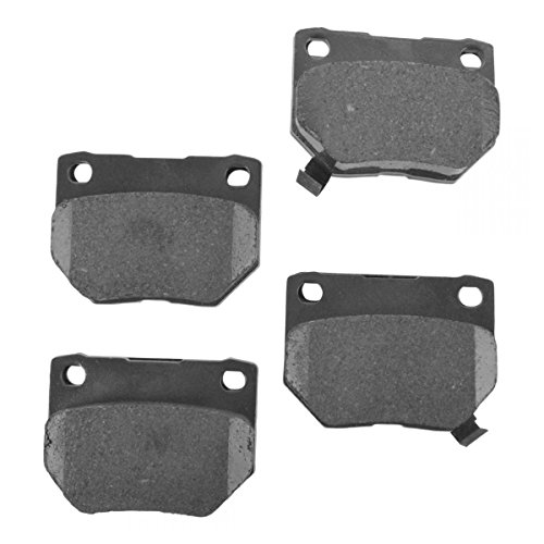 Rear Ceramic Disc Brake Pad Kit Set for Subaru Impreza Nissan 300ZX Z32