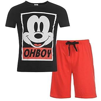 Juego de para Hombre Chándal para Hombre Mickey Mouse Pijama, T ...