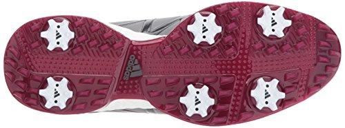 adidas Womens W Adipower Boost Boa Golf Shoe Grey Three Grey Four Mystery Ruby Fabric NmjaSx5