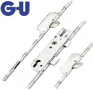 Cerradura GU, 2 ganchos, cierre y cerrojo, 16 mm - GU cerraduras multipunto - 35 mm turbadoras - husillo modessimple: Amazon.es: Bricolaje y herramientas