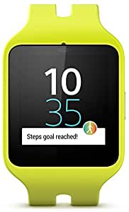 """Sony Smartwatch 3 Sport - Smartwatch Android (pantalla 1.6"""", 4 GB, Quad-Core 1.2 GHz, 512 MB RAM), verde"""