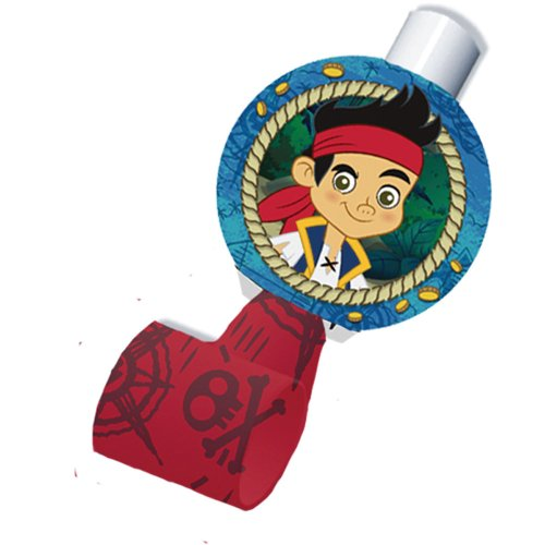 Jake & the Neverland Pirates Blowouts - Birthday & Theme Party Supplies - 8 per pack ()