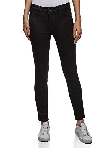 2900w Oodji Skinny Jeans Donna Ultra Nero Up Push x7qTzw