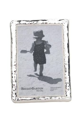 (Reed & Barton Bennett Silver Plate Picture Frame, 4 by 6-Inch)